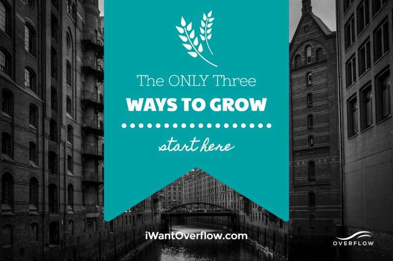 Need Business Growth? Here Are The Only 3 Ways To Do It